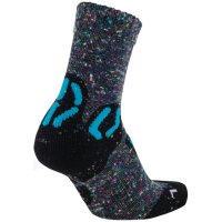 UYN Kids Trekking Outdoor Explorer Socks grey multicolor / turquoise